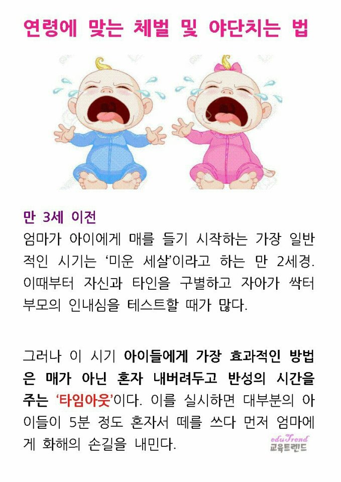 육아 생활 교육트렌드님의 스토리